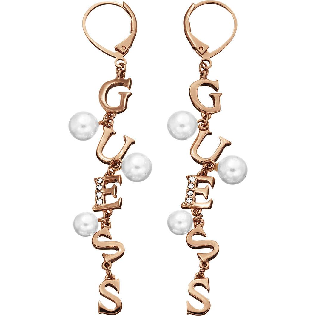 boucles d'oreille femme bijoux Guess YOUNG CONTRASTS UBE51453