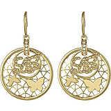 boucles d'oreille femme bijoux Liujo Brass LJ817