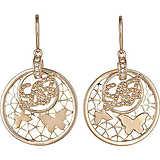 boucles d'oreille femme bijoux Liujo Brass LJ819