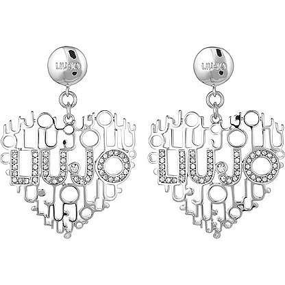boucles d'oreille femme bijoux Liujo Brass LJ822