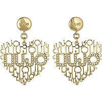 boucles d'oreille femme bijoux Liujo Brass LJ825