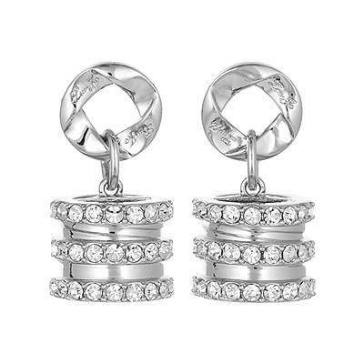 boucles d'oreille femme bijoux Liujo Brass LJ827