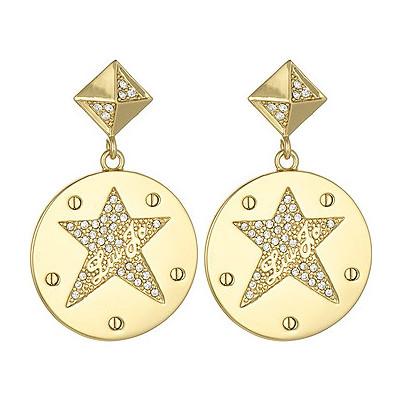 boucles d'oreille femme bijoux Liujo Brass LJ837