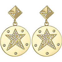 boucles d'oreille femme bijoux Liujo Brass LJ837