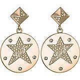 boucles d'oreille femme bijoux Liujo Brass LJ839