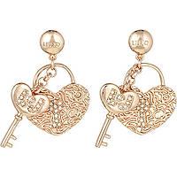 boucles d'oreille femme bijoux Liujo Brass LJ848