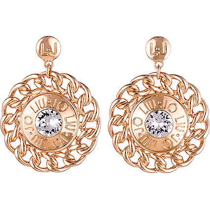 boucles d'oreille femme bijoux Liujo Dolceamara LJ902