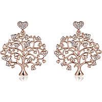 boucles d'oreille femme bijoux Luca Barra Albero Della Vita LBOK869