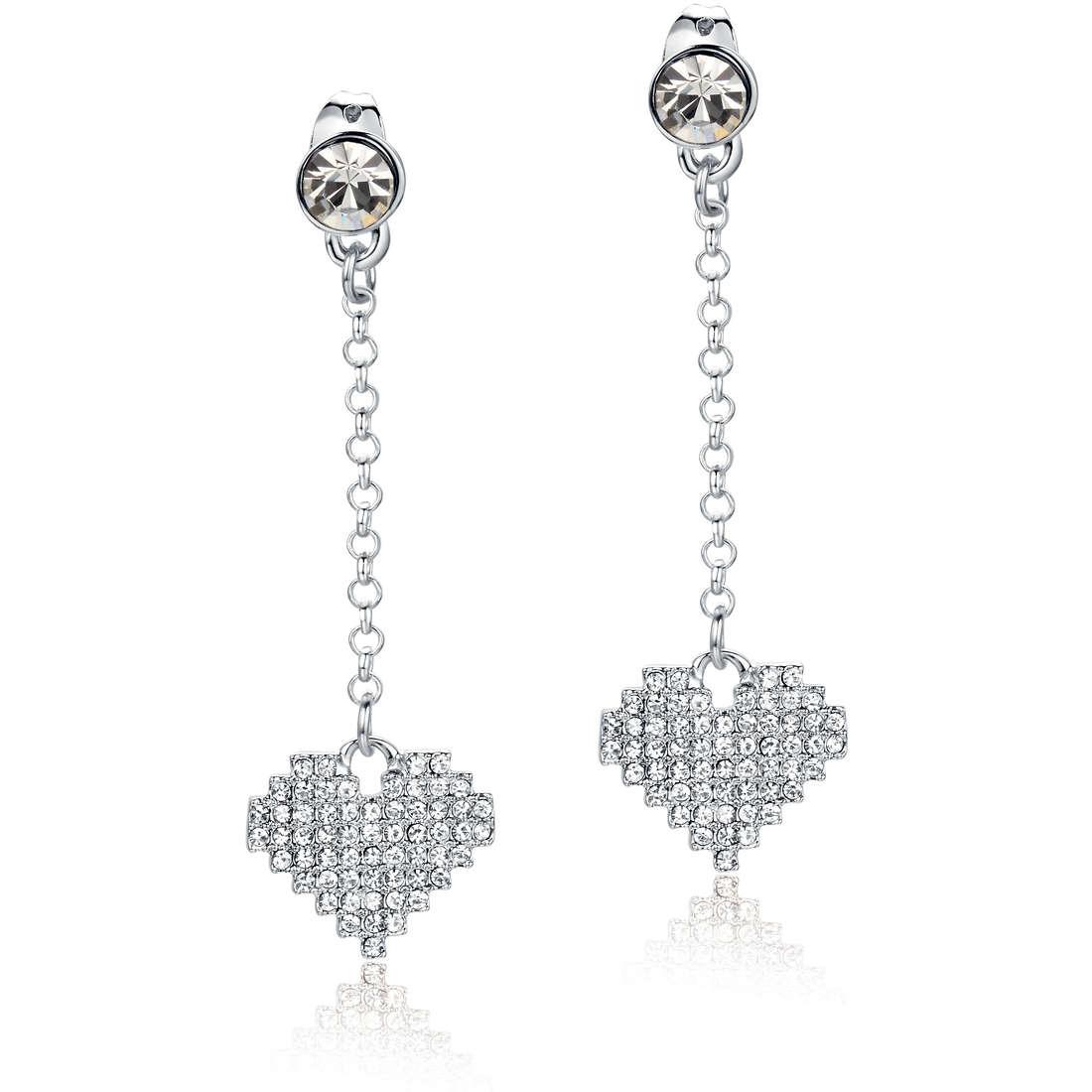 boucles d'oreille femme bijoux Luca Barra Donna LBOK735