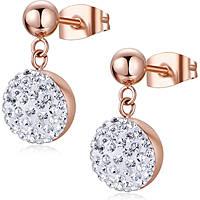 boucles d'oreille femme bijoux Luca Barra Freedom LBOK839