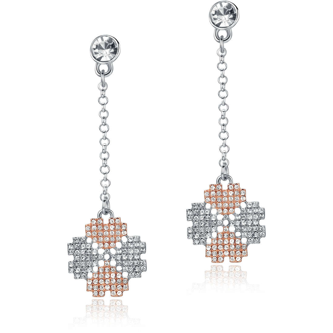 boucles d'oreille femme bijoux Luca Barra Frida LBOK739