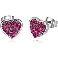boucles d'oreille femme bijoux Luca Barra LBOK457