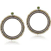 boucles d'oreille femme bijoux Luca Barra LBOK523