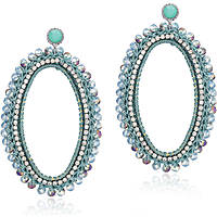 boucles d'oreille femme bijoux Luca Barra LBOK529
