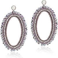 boucles d'oreille femme bijoux Luca Barra LBOK531