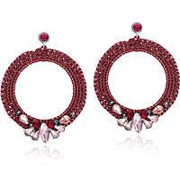boucles d'oreille femme bijoux Luca Barra LBOK553