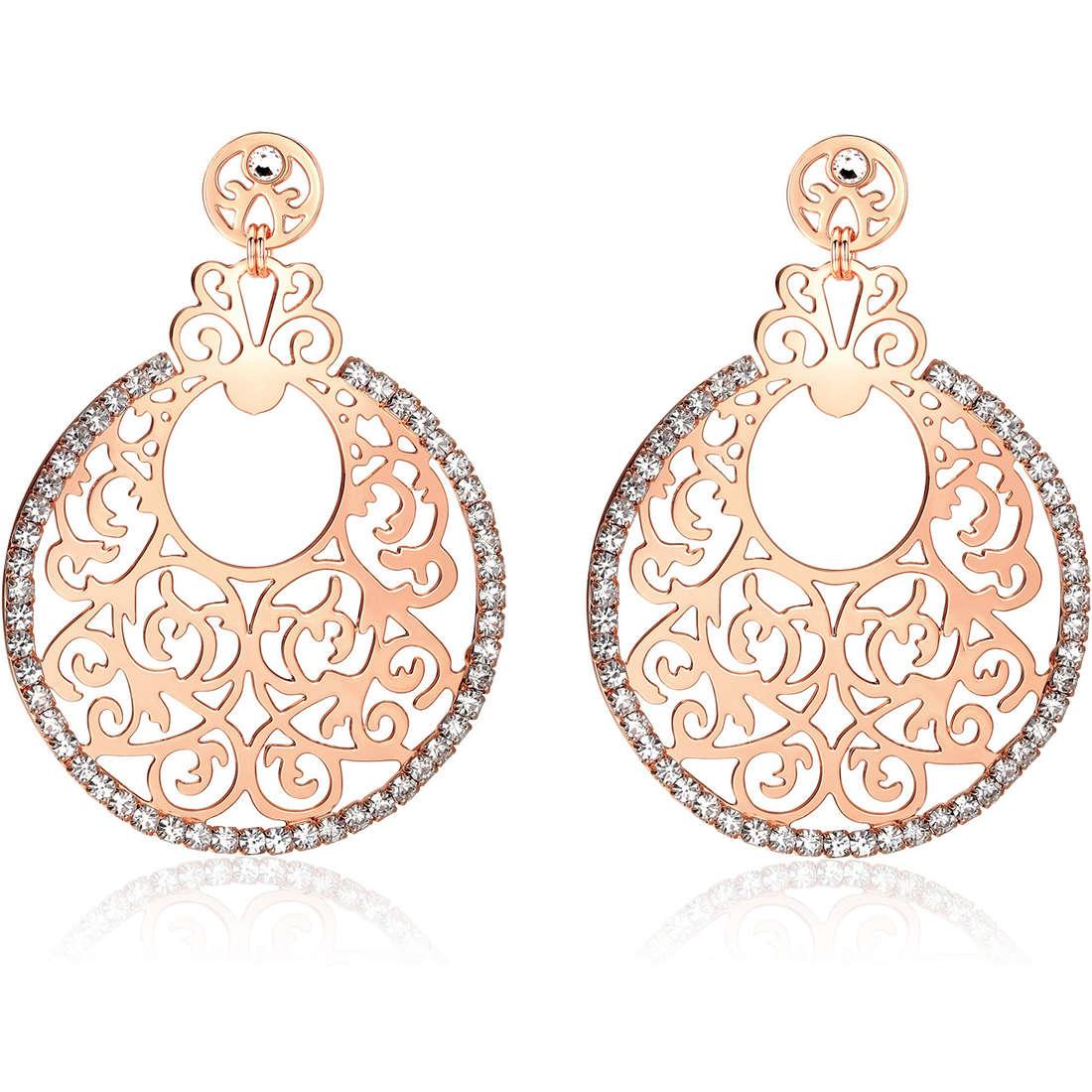 boucles d'oreille femme bijoux Luca Barra LBOK612
