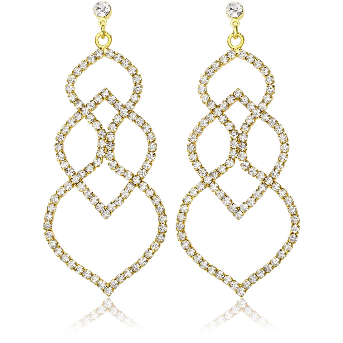 boucles d'oreille femme bijoux Luca Barra LBOK662