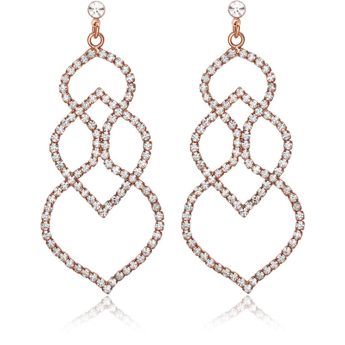 boucles d'oreille femme bijoux Luca Barra LBOK663