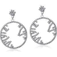 boucles d'oreille femme bijoux Luca Barra LBOK672