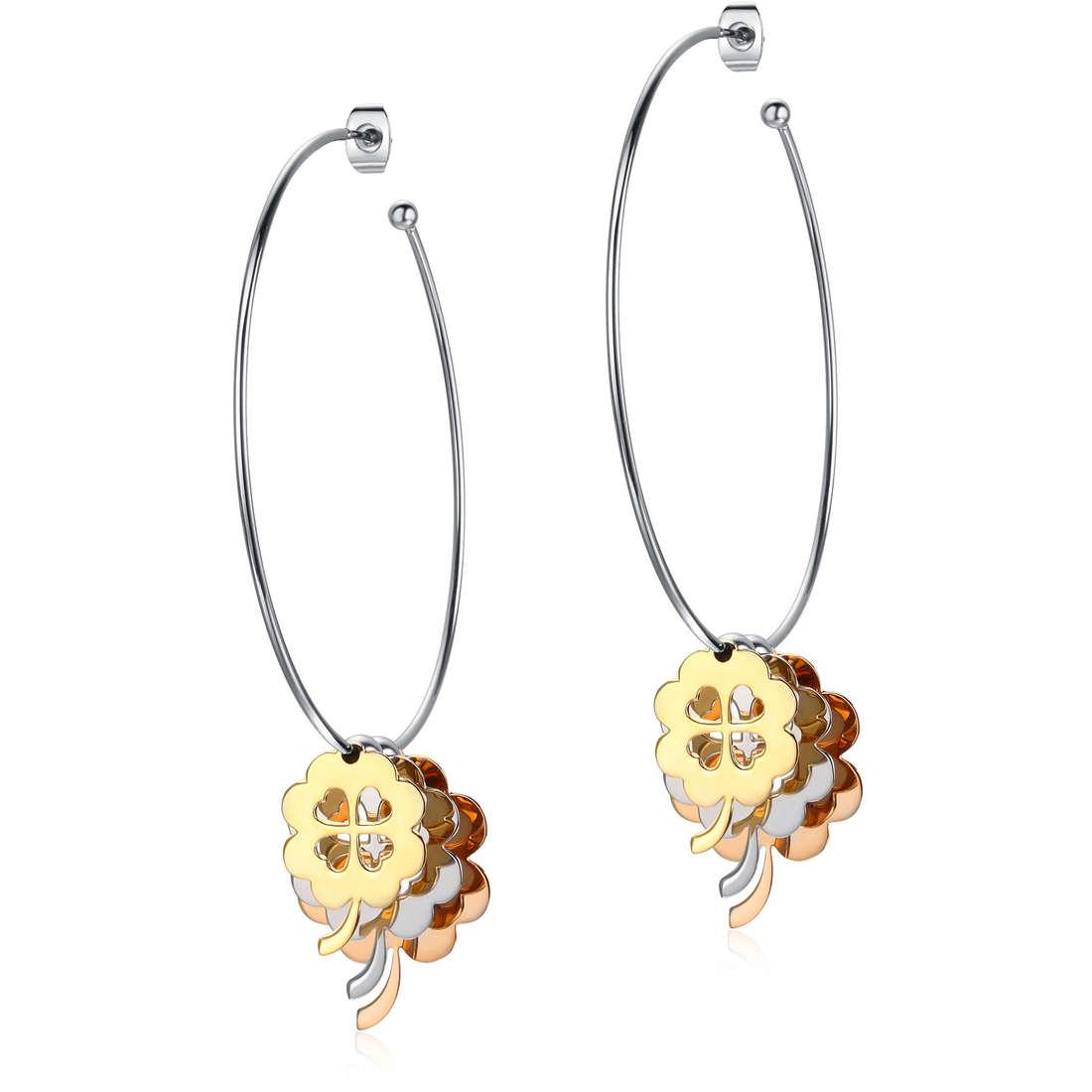 boucles d'oreille femme bijoux Luca Barra LBOK679