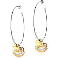 boucles d'oreille femme bijoux Luca Barra LBOK682