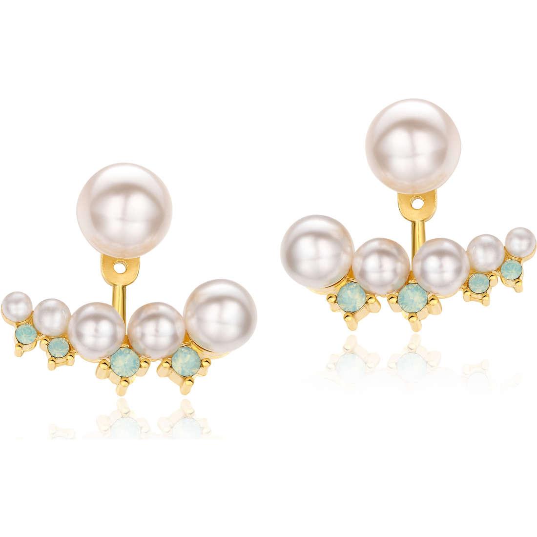 boucles d'oreille femme bijoux Luca Barra LBOK694