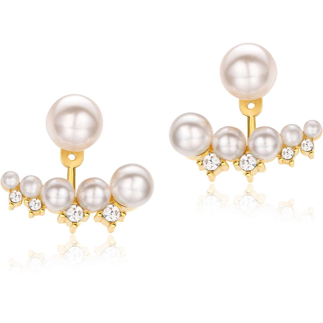 boucles d'oreille femme bijoux Luca Barra LBOK695