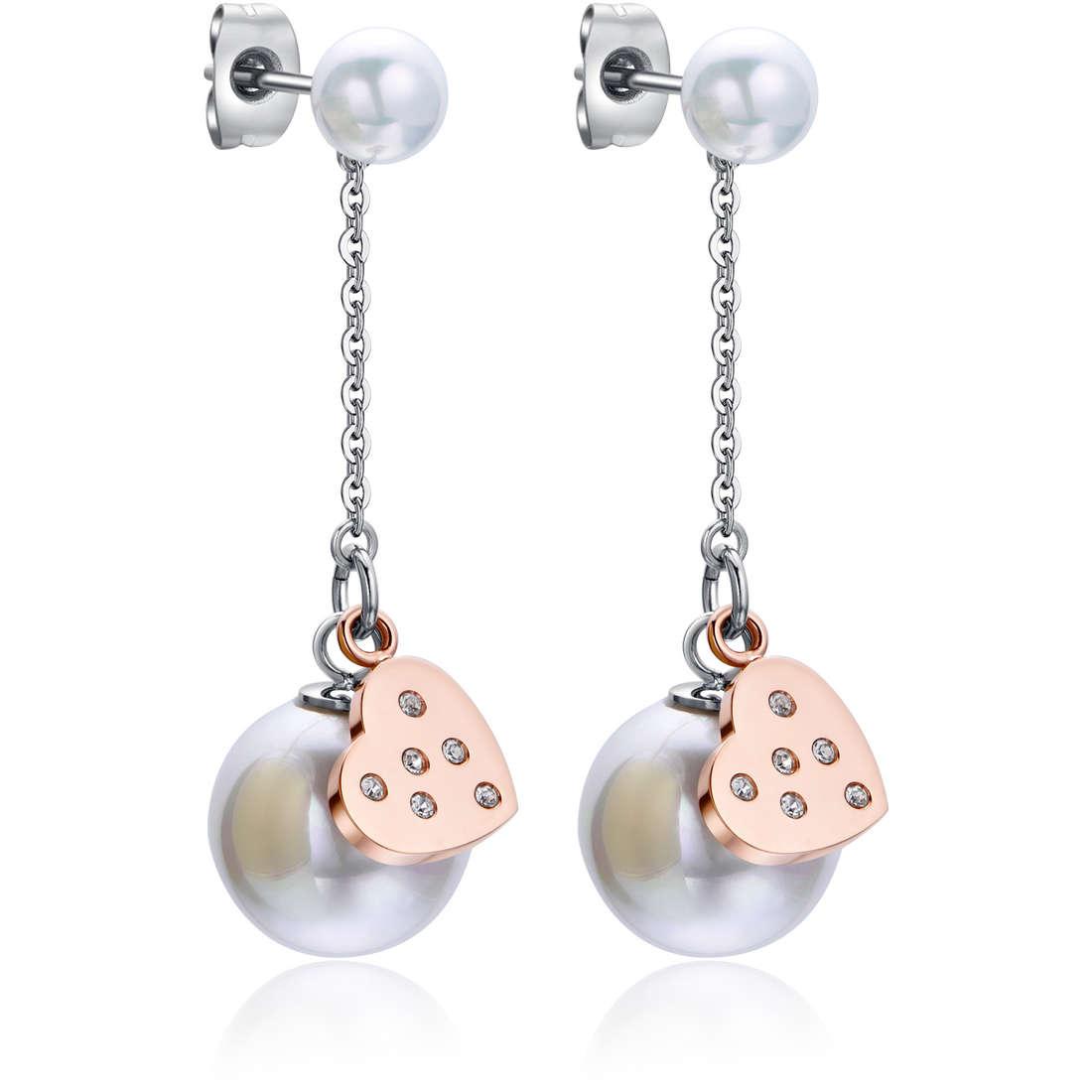 boucles d'oreille femme bijoux Luca Barra LBOK776