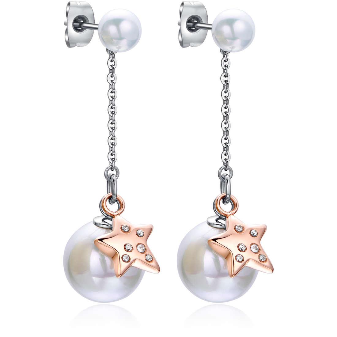 boucles d'oreille femme bijoux Luca Barra LBOK777
