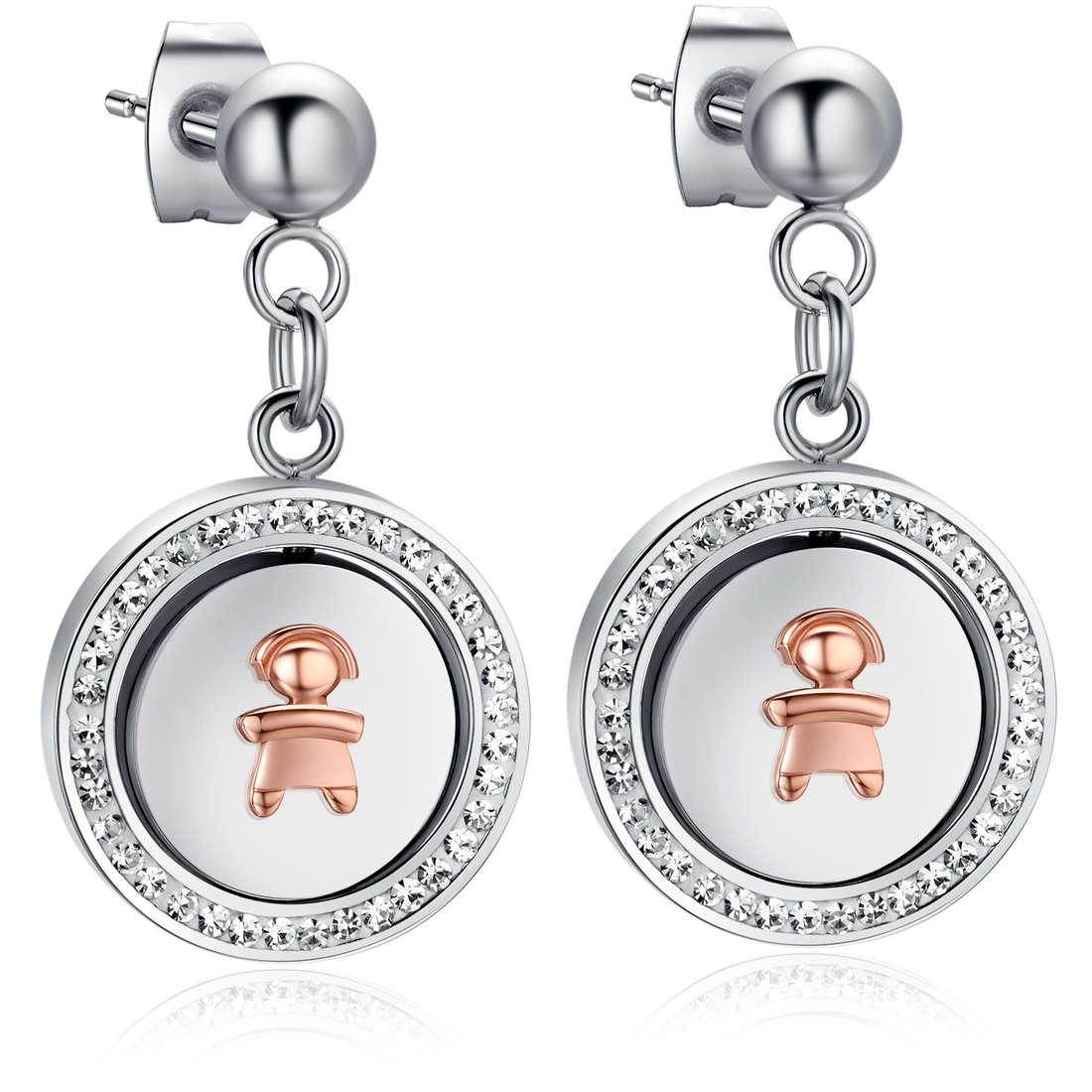boucles d'oreille femme bijoux Luca Barra LBOK778