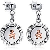 boucles d'oreille femme bijoux Luca Barra LBOK779