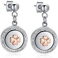 boucles d'oreille femme bijoux Luca Barra LBOK780