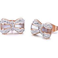 boucles d'oreille femme bijoux Luca Barra LBOK782