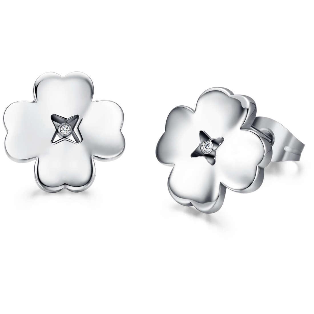 boucles d'oreille femme bijoux Luca Barra LBOK783