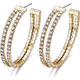 boucles d'oreille femme bijoux Luca Barra LBOK801