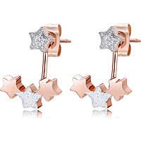 boucles d'oreille femme bijoux Luca Barra LBOK834