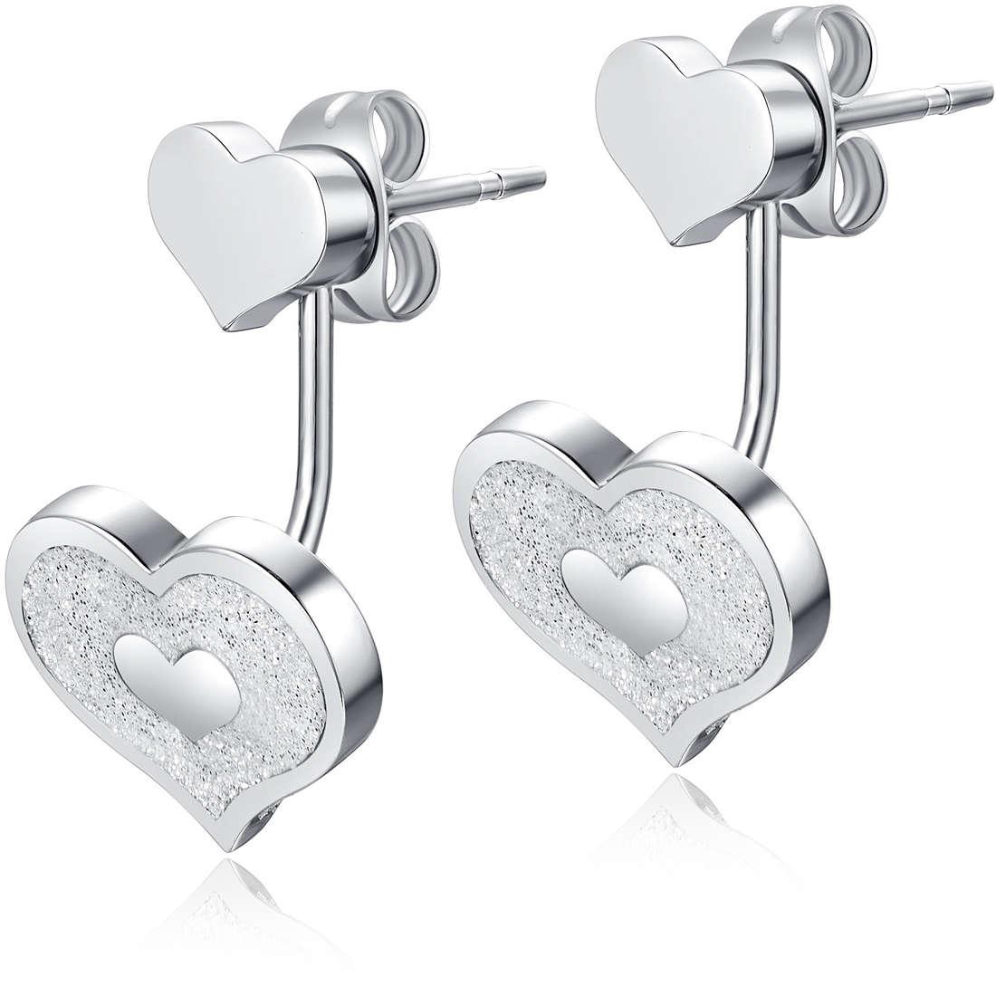 boucles d'oreille femme bijoux Luca Barra LBOK836