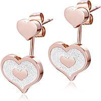boucles d'oreille femme bijoux Luca Barra LBOK837