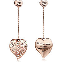 boucles d'oreille femme bijoux Luca Barra Love Is LBOK844