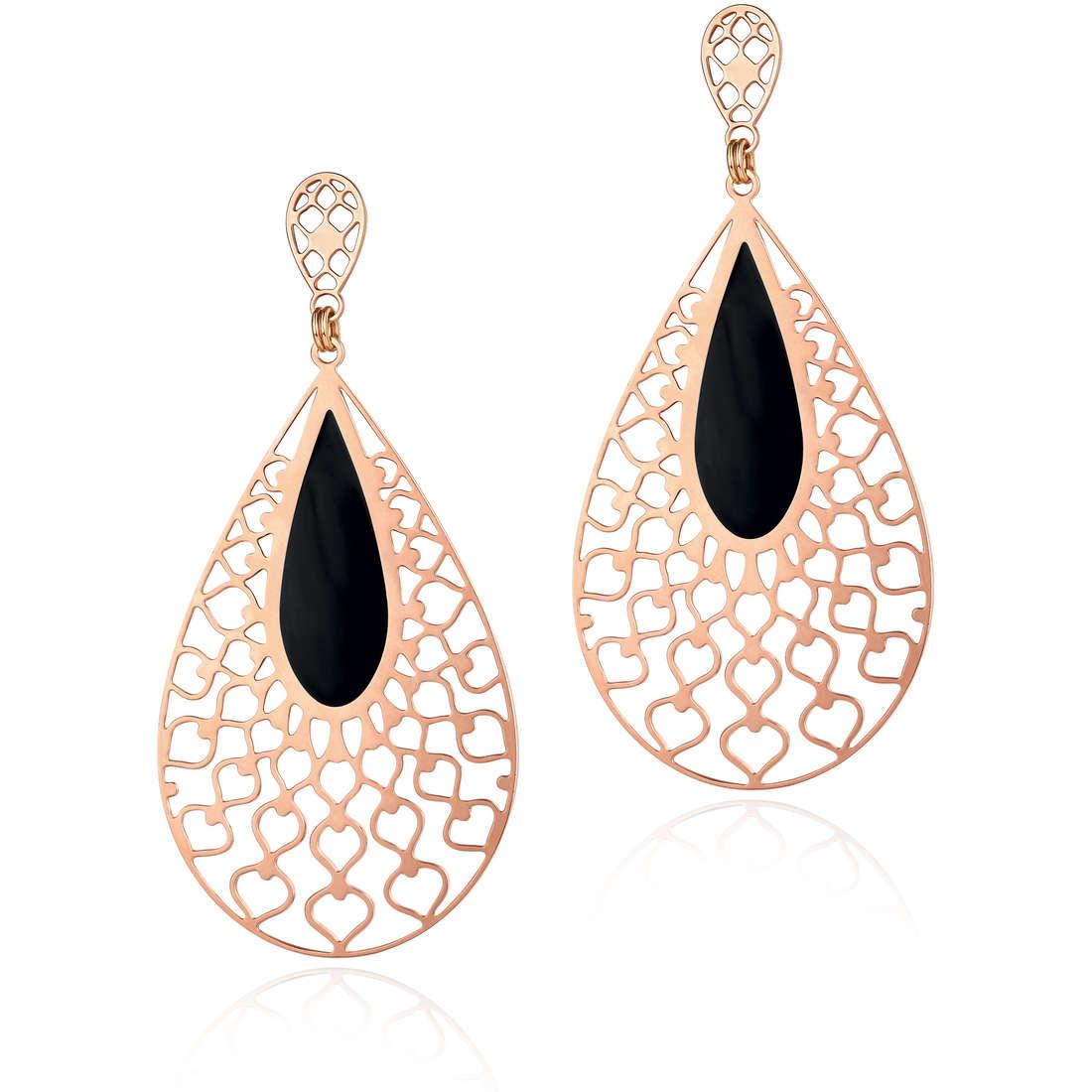 boucles d'oreille femme bijoux Luca Barra Marion LBOK716