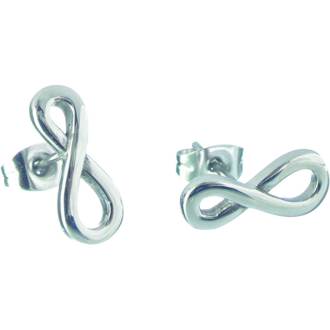boucles d'oreille femme bijoux Marlù My infinity 18OR001