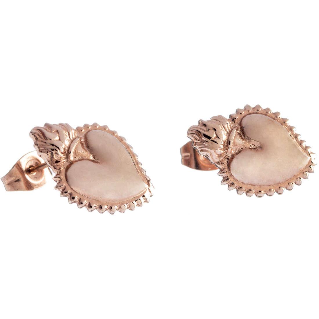 boucles d'oreille femme bijoux Marlù Sacro Cuore 13OR010