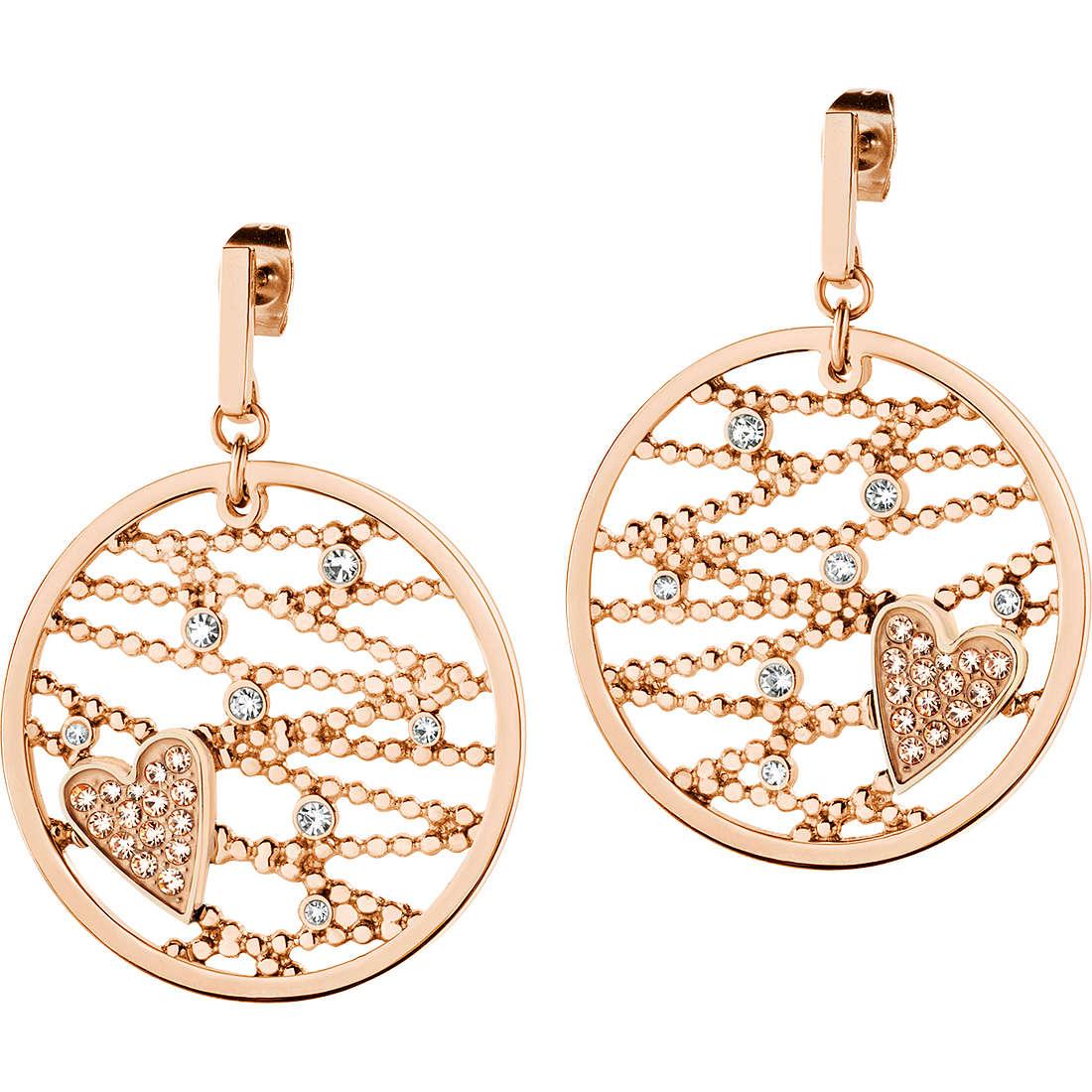 boucles d'oreille femme bijoux Morellato Cuore Mio SADA02