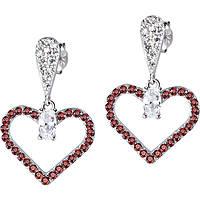 boucles d'oreille femme bijoux Morellato Cuori SAIV03