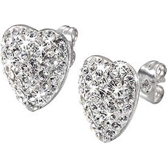 boucles d'oreille femme bijoux Morellato Heart SRN14