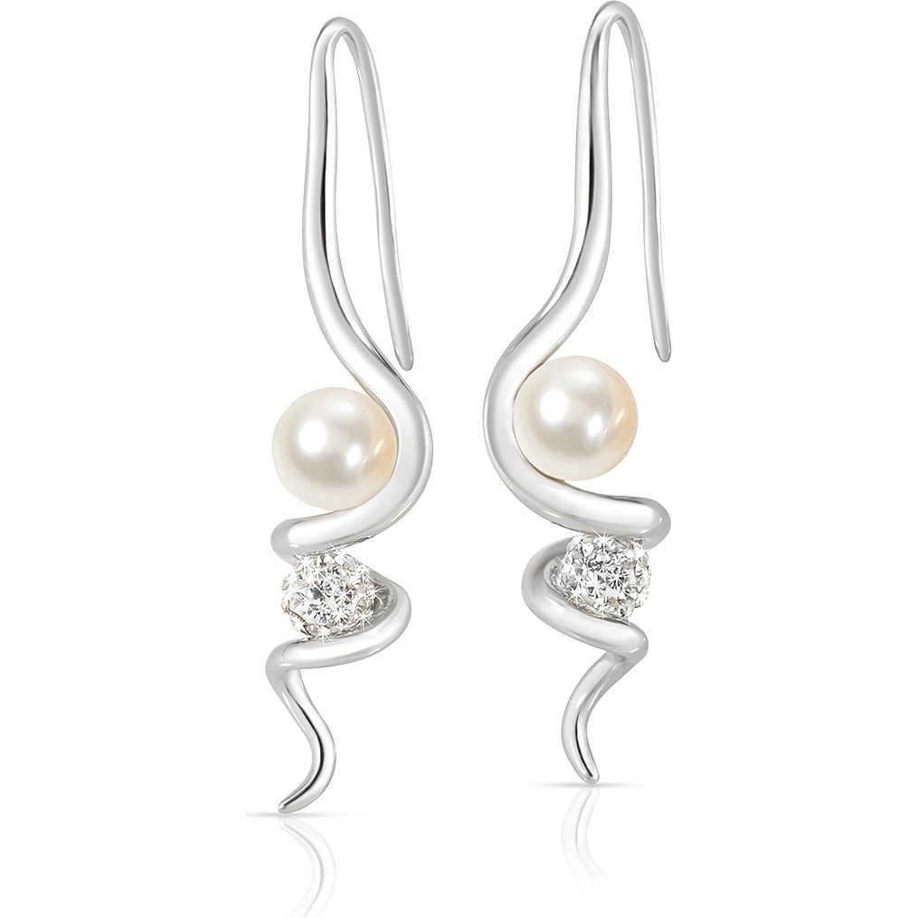 boucles d 39 oreille femme bijoux morellato luminosa saet12 boucles d 39 oreille morellato. Black Bedroom Furniture Sets. Home Design Ideas