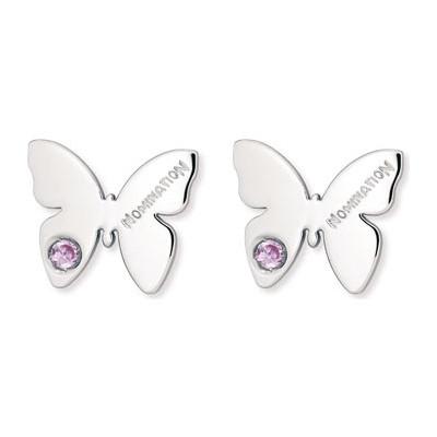 boucles d'oreille femme bijoux Nomination Butterfly 021308/002