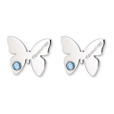 boucles d'oreille femme bijoux Nomination Butterfly 021308/003