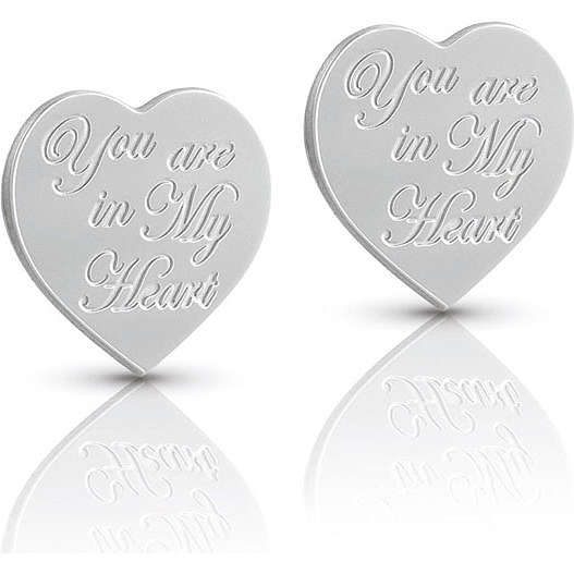 boucles d'oreille femme bijoux Nomination SWEETHEART 026130/014